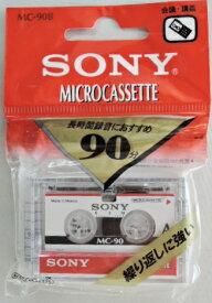 ソニー マイクロ カセットテープ MC−90B 90分