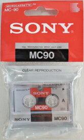 ソニー マイクロ カセットテープ MC−90A 90分