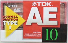 TDK カセットテープ AE−10F 10分テープ