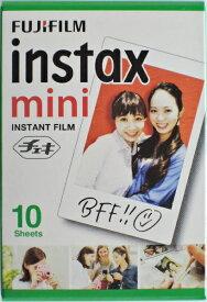 フジフィルム インスタックスミニ チェキ用フィルム10枚