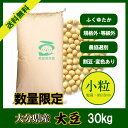 大分県産 大豆《小粒》30kg/数量限定 28年産
