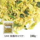 乾燥キャベツ100g〔チャック付〕/九州産 乾燥野菜 きゃべつ メール便 送料無料 チャック付 九州産 国産 ボイル済み …