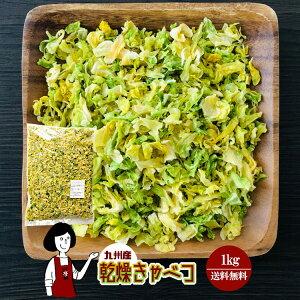 乾燥キャベツ1kg/九州産 乾燥野菜 きゃべつ 宅配便 送料無料 九州産 国産 ボイル済み ドライベジ アウトドア キャンプ 保存食 時間短縮 スープ こわけや