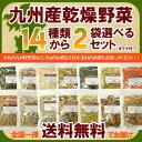 九州産乾燥野菜14種類から2袋選べるセット/オマケ付