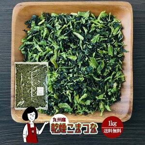 乾燥こまつな 1kg/九州産 乾燥野菜 小松菜 宅配便 送料無料 九州産 国産 ボイル済み ドライベジ アウトドア キャンプ 保存食 時間短縮 スープ こわけや