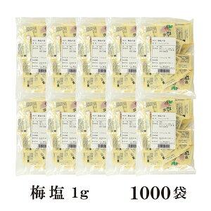 梅塩 1g×1000袋 宅配便 送料無料 小袋 使いきり 調味料 塩 ソルト 梅 梅干し 天ぷら 寿司 焼き鳥 お弁当 イベント 和食 肉料理 野菜料理 魚料理 小分け テイクアウト こわけや