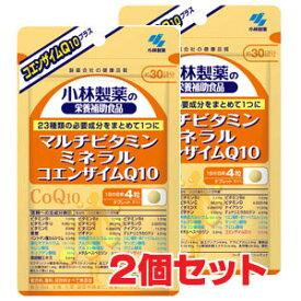 ★ゆうメール発送・送料無料★小林製薬 栄養補助食品 マルチビタミン ミネラル コエンザイムQ10 120粒×2個