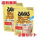 ★送料無料・2個セット★ザバス(SAVAS)ジュニアプロテイン ココア味 840g(約60食分)【コンビニ受取対応商品】
