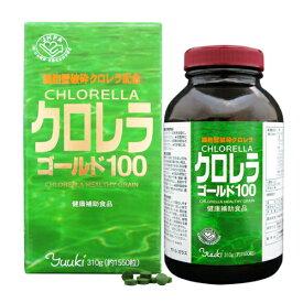 ユウキ製薬 クロレラゴールド100 (約1,550粒)
