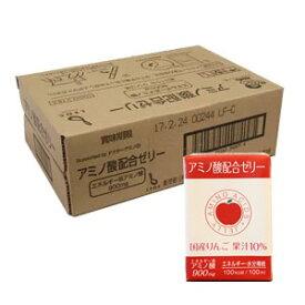 アミノ酸配合ゼリー 100mL×18個 (高齢者様の介護、低栄養予防に)株式会社レオックフーズ