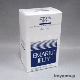 佐藤製薬エマリールゼリー 3g×12包入しっとり潤いをもたせ、潤滑効果を高める潤滑ゼリー 【RCP】【コンビニ受取対応商品】 10P03Dec16