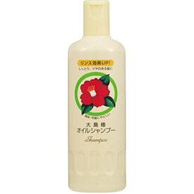 大島椿オイルシャンプー 400mlツバキ石けんおよびツバキ油配合