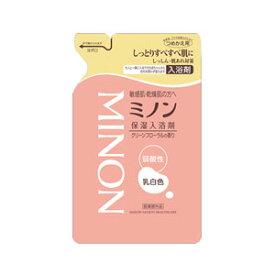 ミノン薬用保湿入浴剤 詰替用400mL【医薬部外品】