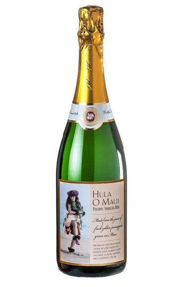 スパークリング パイナップルワイン フラ・オ・マウイ 750ml HULA O MAUI ハワイ【6本で送料無料!】