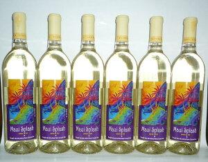 6本セット ハワイ パイナップルワイン マウイスプラッシュ 750ml パッションフルーツワイン