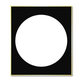 仏画色紙 月輪・月輪観【メール便対応商品サイズ100】【RCP】