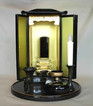厨子型ミニ仏壇(小)用・仏具セット
