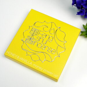 ■お香|インセンス|ガーリー風水 【風水香】【金運アップの香り : ハチミツ&バニラ】 梅栄堂
