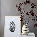 Paper Collective(ペーパーコレクティブ)ポスター【パインコーン】松ぼっくり グレー50×70cm 北欧 インテリア