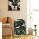 Paper Collective(ペーパーコレクティブ)ポスター Green home 01(グリーンホーム)50×70cm 北欧 インテリア
