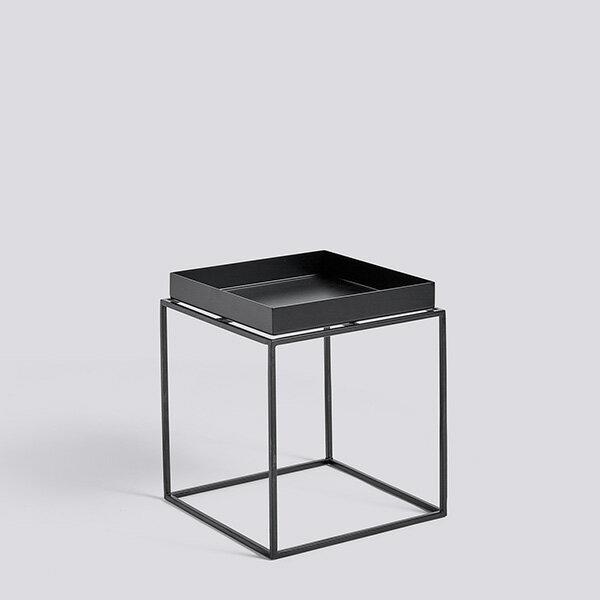 HAY (ヘイ)TRAY TABLE S squareサイドテーブル/コーヒーテーブルブラック 北欧家具