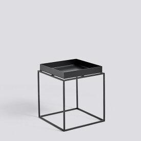 HAY (ヘイ) TRAY TABLE S square サイドテーブル/コーヒーテーブル ブラック 北欧家具 【受注発注の為キャンセル/返品不可】【大型送料】