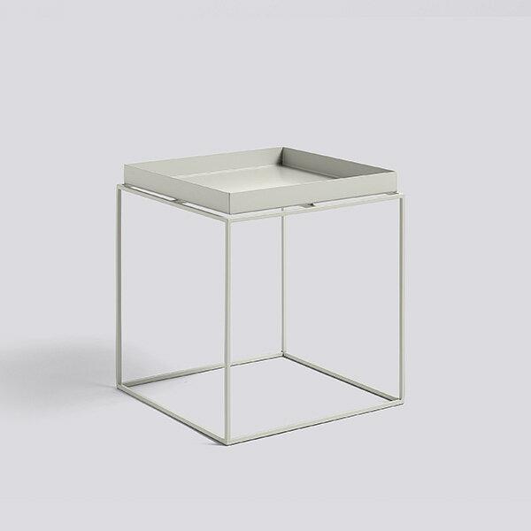 HAY (ヘイ)TRAY TABLE M squareサイドテーブル/コーヒーテーブルワームグレー 北欧家具