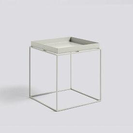 HAY (ヘイ) TRAY TABLE M square サイドテーブル/コーヒーテーブル ワームグレー 北欧家具 【受注発注の為キャンセル/返品不可】【大型送料】