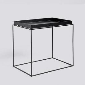 HAY (ヘイ) TRAY TABLE Side table rectangular サイドテーブル/コーヒーテーブル ブラック 北欧家具 【受注発注の為キャンセル/返品不可】【大型送料】
