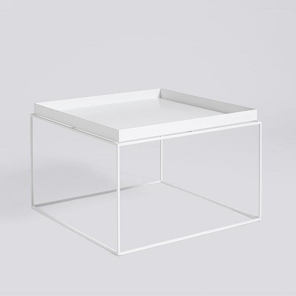 HAY (ヘイ)TRAY TABLE Coffee squareサイドテーブル/コーヒーテーブルホワイト 北欧家具