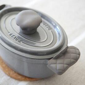 APYUI(アピュイ) キッチンミトン/鍋つかみ/両手用 グレー