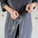 kura (クーラ)Lisbet Friis(リズベットフリース)ミニフラワーパワー折りたたみアンブレラ ブラック 傘