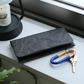 SIWA (紙和) 長財布 ブラック/ブルー/ブラウン 和紙/軽量/国産/財布【メール便】