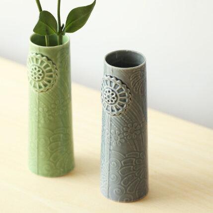 dottir(ドティエ)Pipanella(ピパネラ)フラワーベース/フラワーSダークグレー北欧/インテリア/花瓶/日本正規代理店品