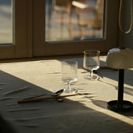 fermLIVING(ファームリビング)RippleWineGlasses(リップルワイングラス)2個セット北欧/ガラス食器/日本正規代理店品