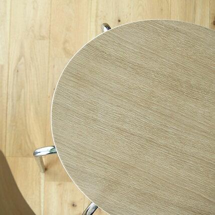 【受注発注】fermLIVING(ファームリビング)HermanChair(ハーマンチェア)ホワイトオイルドオーク/クローム北欧/インテリア/照明/日本正規代理店品【大型送料】