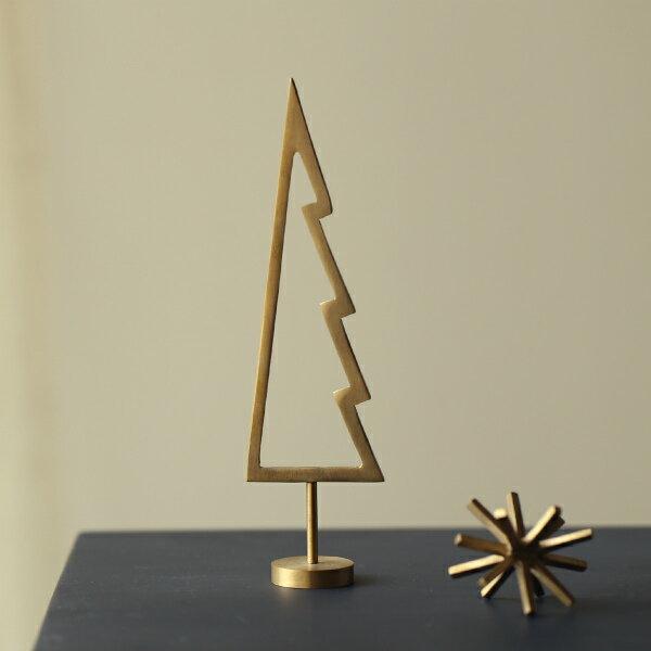 ferm LIVING (ファームリビング) Tree (ツリー) アウトライン ブラス 北欧/インテリア/クリスマス/日本正規代理店品