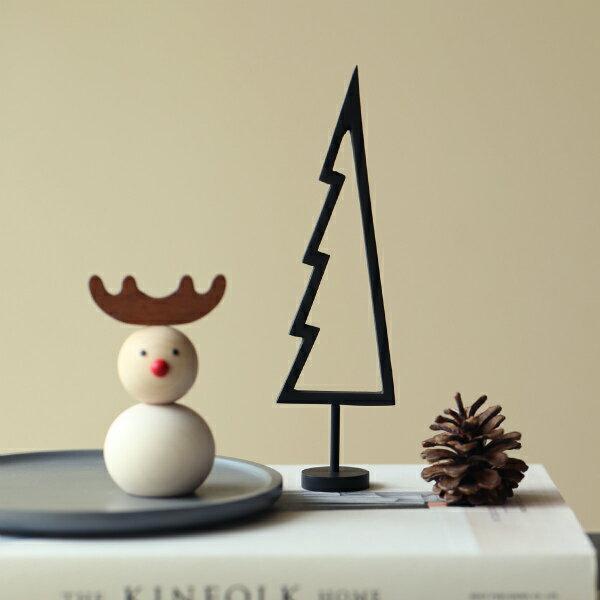 ferm LIVING (ファームリビング) Tree (ツリー) アウトライン ブラック 北欧/インテリア/クリスマス/日本正規代理店品