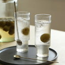 ferm LIVING (ファームリビング) Ripple Long Drink Glasses (リップル ロンググラス) 4個セット 北欧/インテリア/日…