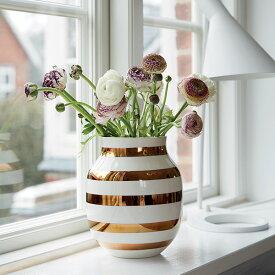 Kahler(ケーラー) 175周年記念 オマジオアニバーサリーベース M ブラス 花瓶 陶器 日本正規代理店品