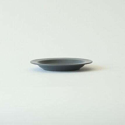 kura(クラ)Ena(エナ)リムプレート16cmスレートグレー/マット和洋食器/食器/皿