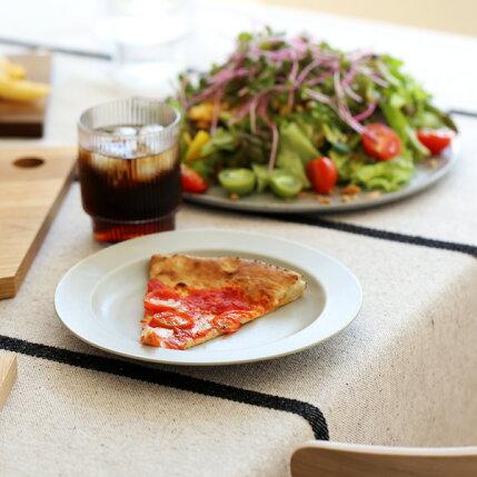 kura(クラ)Ena(エナ)リムプレート19cmクールグレー/マット和洋食器/食器/皿