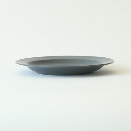kura(クラ)Ena(エナ)リムプレート24cmスレートグレー/マット和洋食器/食器/皿