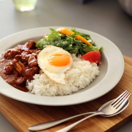 kura(クラ)Ena(エナ)リムプレート24cmクールグレー/マット和洋食器/食器/皿