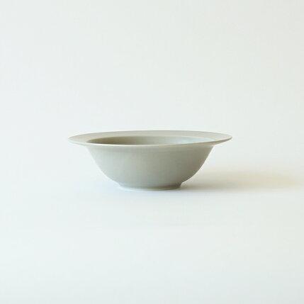 kura(クラ)Ena(エナ)リムプレート/スープボウル17cmクールグレー/マット和洋食器/食器/皿