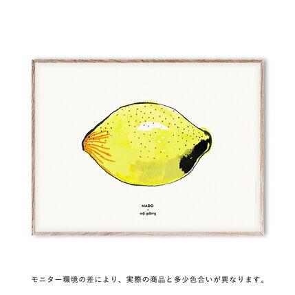 【受注発注】MADO(マド)ポスター30×40cmSoftGalleryLemon