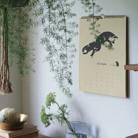 Teemu Jarvi (テーム・ヤルヴィ) カレンダーFox tales Calendar 2021 30×40cm 北欧/インテリア/アート/シンプル/壁掛け★★★