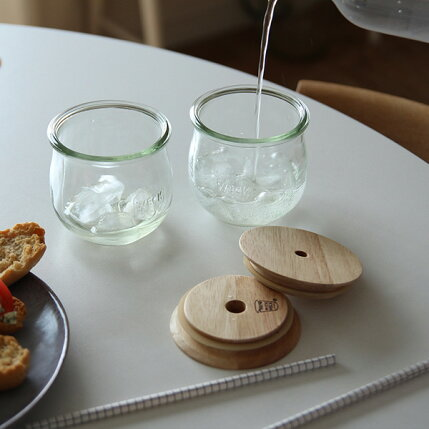 WECK(ウェック)WECKGIFTBOXDRINKBOTTLESET(ドリンクボトルセット)/TULIP370ml×2グラス/キャニスター/キッチン