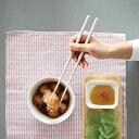 STIIK(スティック)箸/はし(2膳入り)カトラリーのような箸/一年箸/セラミックグレー/竹製日本製