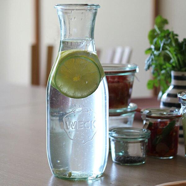 Weck (ウェック)Juice Jar カラフェ we766【フタのサイズS】